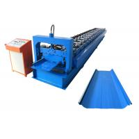 China OEM Durable Standing Seam Roll Forming Machine For Metal Roofing Construction on sale