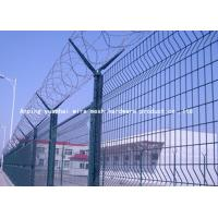 Wholesale Sun Resistant Razor Barbed Wire Fence , Pvc Coated Welded Wire Mesh Panels from china suppliers