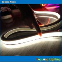Wholesale hot sale white led flat 100v 16*16m neon flex rope for signs from china suppliers