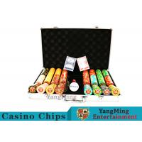 Wholesale Texas Poker Chip Set / 11.5g Clay Casino Chip With Aluminum Case from china suppliers