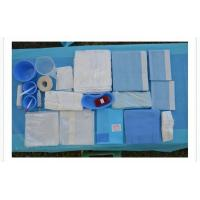 Wholesale Blue Color Sterile Surgical Drape Pack / Disposable Examination Drape from china suppliers