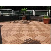 Wholesale Boardwalk / Playground  WPC Deck Tiles With Anti - Slip Composite Material from china suppliers