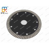 """Wholesale BMR TOOLS 4.5""""(114mm) Fine Diamond Turbo Saw Blade Cutter Disc For Granite Marble Quartz Stone Concrete Wet Cutting from china suppliers"""