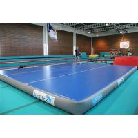 Wholesale 12*12m Inflatable Stunt Crash Mat , Gymnastics Practice Mat For Sports from china suppliers