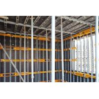 Adjustable Concrete Wall Formwork Q235 steel , Face to plywood for material - saving for sale