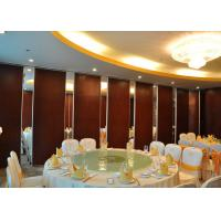 Melamine Office Partition Walls , Sliding Door , Conference Room Movable Walls for sale