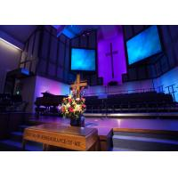 Buy cheap Ecuador P6 LED Display SMD3528 Indoor HD Colorful Church LED Screen at 5m x 3m from wholesalers