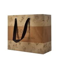 Carrying Personalized Paper Bags Convenient Eco - Friendly Direct Design for sale