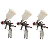 Quality Mini HVLP gravity feed air spray gun , industrial paint spray gun with 125ML / for sale
