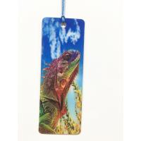 Wholesale Cartoon 3D Lenticular Bookmark , Custom Bookmark With Tassel Animal Style from china suppliers
