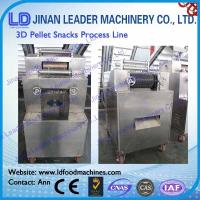 Wholesale Industrial 2d 3d pellet snack food processing line small scale from china suppliers