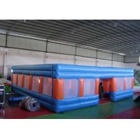 Wholesale 0.55mm PVC Kids Playground Inflatable Outdoor Games Blow Up Maze EN14960 from china suppliers