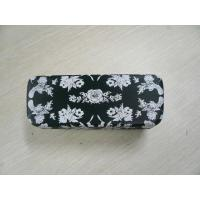 Wholesale Custom Safety Clamshell Eyeglass Case PU / PVC / Cloth Outside Material from china suppliers
