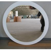 China 700mm * 500mm Round Decorative Glass Mirrors 4mm / Clear Silver Mirror on sale
