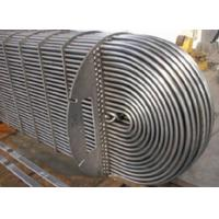 Water Cooled Evaporator Stainless Steel U Tube Heat Exchange Pipe For Refrigeration