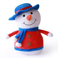 Wholesale Comfortable Animated Plush Christmas Toys Flexible Delicate Touch Snow Man from china suppliers