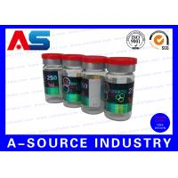 Professional Prniting Of 10ml Vile Labels And Cartons Hologram Laser Printing