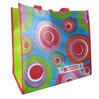 Wholesale Supermarket colorful green recyclable PP woven shopping bags from china suppliers