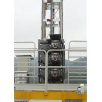 China Low Starting Current Buck Hoist Elevator , Rack & Pinion Elevator Cage Height Internal 2.35M for sale