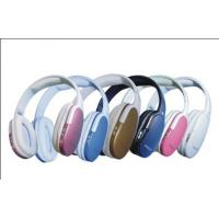 Wholesale 6 Colors, 4Ω 3W Horn, TF CARD and Unique Exterior FM Wireless Headphones from china suppliers