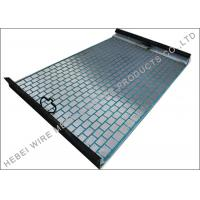 China Deblinding Cloth Hookstrip Flat Screen For Model 500 Series Shale Shaker on sale