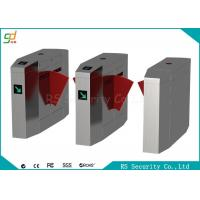 Quality CE Automatic Turnstiles Flap Barrier Gate Stainless Steel Card Reader Turnstile for sale