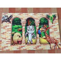 Wholesale beautiful indoor 3D Printing cartoon floor carpet from china suppliers