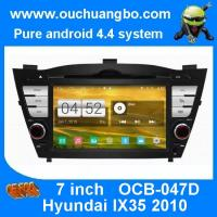 Wholesale Ouchuangbo Hyundai IX35 2010-2012 amdroid 4.4 stereo navi gps radio support canbus swc iPo from china suppliers
