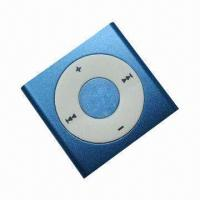 China MP3 Player with microSD Card Slot, Built-in Li-ion Battery, 3.5mm Earphones Connection on sale