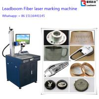 Buy cheap ABS Board Plastic Portable Fiber Laser Marking Machine Glasses Printing Machine from wholesalers