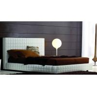Wholesale PU/PVC Leather Upholstered Bed, Upholstered Headboard, Modern Hotel Furniture from china suppliers