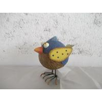 China Bird shape ceramic or poly resin Garden Animal Statues / statue on sale