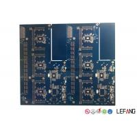 Wholesale Blue Solder PCB Board FR4 2 Layers ENIG Surface Treatment For Medical X - Ray Machine from china suppliers
