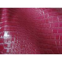 Wholesale Various Color PU Snake Embossed Pattern Leather 1.0mm Thickness for Bag, Decoration from china suppliers