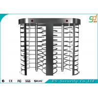 Wholesale Card Reader Full Height Security Turnstiles , Turnstile Gate Systems from china suppliers