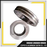 Wholesale Surface Finishing A356 T6 Aluminum Belt Pulleys CNC Machining Double V Belt Pulley from china suppliers