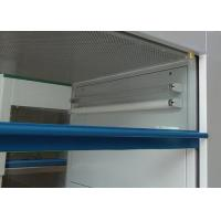 China 800W Stainless Steel Vertical Portable Clean Rooms , Laminar Flow Clean Bench for sale