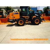 Wholesale XCMG LW300KV 3 Ton Mini Wheel Loader / Front End Loader Yellow Color from china suppliers
