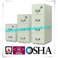 Wholesale Steel Fireproof And Waterproof File Cabinet With Drawers For Documents from china suppliers