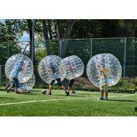 Wholesale 1.5m TPU Human Inflatable Bumper Bubble Ball For Adult With Logo Printing And Blower from china suppliers