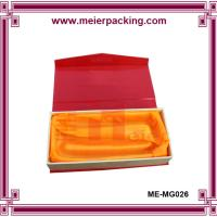 Wholesale Custom presentation paper box for lady belt, magnet closure gift box ME-MG025 from china suppliers