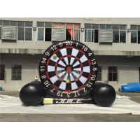 Wholesale Giant Inflatable Dart Board , Football / Golf Dartboard For Kids from china suppliers