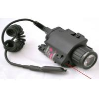 Wholesale Laser speed Red Combo LED Flashlight with Quick Rail Mount gun sight from china suppliers