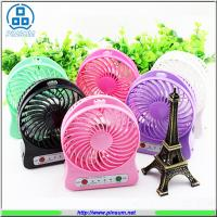 Wholesale portable mini electronic fan rechargeable fan with USB power bank strong wind from china suppliers