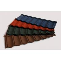 Wholesale Heat Resistant Stone Coated Metal Roofing Tile Brick Red Roof Tiles from china suppliers