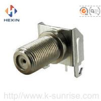 Buy cheap F type connector with shield cover from Wholesalers