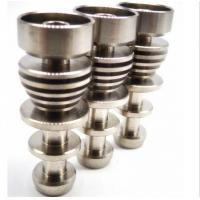 Wholesale Vapenwiser domeless titanium nail 14&18mm male joint titanium nail from china suppliers