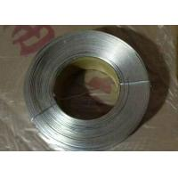Wholesale No - Joint Galvanized Flat Wire Anti Corrosion With Low Carbon Steel Q195 from china suppliers