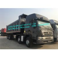 Wholesale Heavy Duty Dump Truck Howo A7 Dump Truck 6 x 4 Euro 2/3  negative grounded from china suppliers