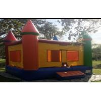 Wholesale Yellow PVC Kids Inflatable Combo Bouncer Amazing With Windows from china suppliers